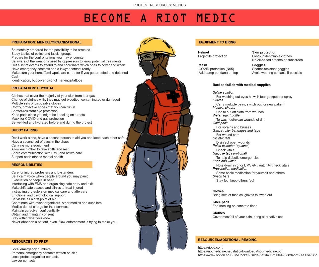 Become a Riot Medic